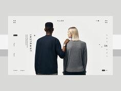 Cloqk by Alexander Shmelev - Dribbble Minimal Web Design, Web Ui Design, Best Web Design, Graphic Design, Website Design Inspiration, Website Design Layout, Layout Design, Layout Inspiration, Websites Design