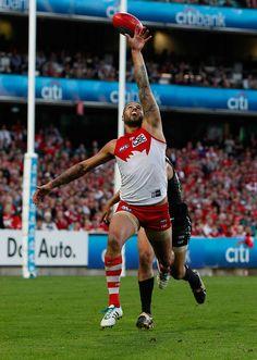Buddy. #swans #Sydney #footy #AFL #Buddy #LanceFranklin Melbourne, Sydney, Swans, Rugby, Bud, Australia, Football, Running, Sports