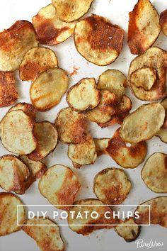 DIY Potato Chips via @PureWow