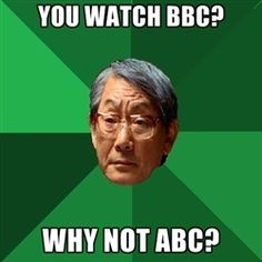 High Expectations Asian Father #motd