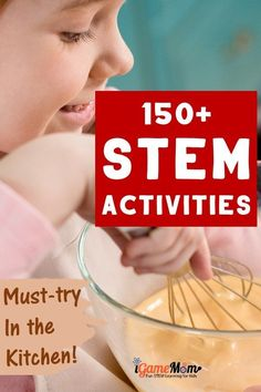 Turn kitchen into STEM laboratory at home! Easy summer and winter STEM (science technology math engineering) activities for kids to learn everything in STEM discipline, with easy to find materials and amazing effects. Must-try easy fun with kids in the kitchen. Stem Activities, Activities For Kids, Steam Learning, Stem Science, Science And Technology, Engineering, Kid Activities, Mechanical Engineering, Architectural Engineering