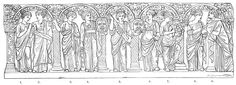 Of all the Olympic deities, none occupy a more distinguished position than the Muses, the nine beautiful daughters of Zeus and Mnemosyne....