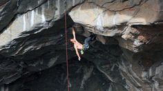 You've never seen anyone climb like this before...