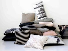 Cushions dress up any space