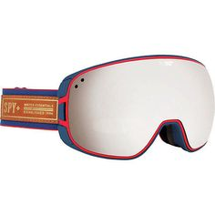 Other Winter Sport Accessories 21232: Spy Optic 648478756700 Bravo Snow Ski Goggles Heritage Navy Bronze Silver Mirror BUY IT NOW ONLY: $107.61