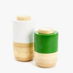 Image 1 of the product DECORATIVE LACQUERED BAMBOO JAR