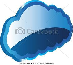 Vector - Cloud computing - stock illustration, royalty free illustrations, stock clip art icon, stock clipart icons, logo, line art, EPS picture, pictures, graphic, graphics, drawing, drawings, vector image, artwork, EPS vector art