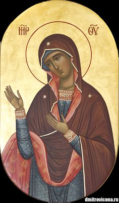ΜΡ.ΘΥ__Παναγία  της Δεησης              ( храмовая икона Пресвятая Богородица