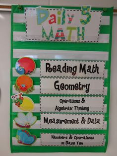 I would love to hear from other primary teachers who use Daily 5 Math or do math work stations/guided math groups.