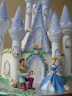 Cinderella's Castle Cake by lizespo, via Flickr