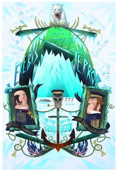 The Franklin Expedition by Graham Corcoran, via Behance Franklin Expedition, Arctic Explorers, Star Spangled Banner, Navy Ships, Royal Navy, Lost & Found, Retro, North America, Mystery