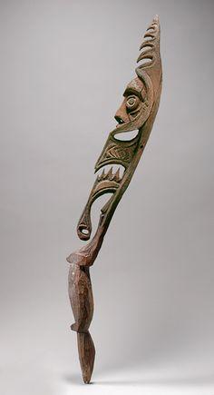 Male Figure (Aripa) [Inyai-Ewa people, Korewori River, Middle Sepik region, Papua New Guinea] (1978.412.1508) | Heilbrunn Timeline of Art History | The Metropolitan Museum of Art