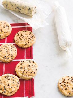 Biscuits aux brisures de chocolat congélateur Recettes | Ricardo