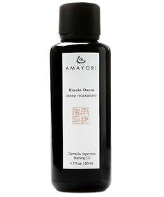 Amayori Hinoki Onsen Camellia Japonica Bathing Oil, $80 Best Acne Products, Camellia Oil, Deep Relaxation, Beauty Junkie, Tinted Moisturizer, Beauty Shop, Clear Skin, Beauty Women, Bathing