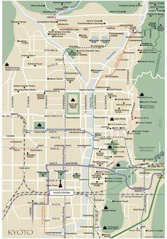 Kyoto map (english)