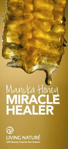 New Zealand Active Manuka Honey is a natural antimicrobial and beneficial for skin - Manuka Honey is scientifically proven to stimulate wound and acne healing and promote healthy skin. Organic Skin Care, Natural Skin Care, Nature's Miracle, Cosmetics Ingredients, Natural Kitchen, Wound Healing, Medical Prescription, Beauty Skin, Diy Beauty