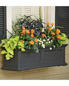 Fairield Window Box from Gardeners Supply