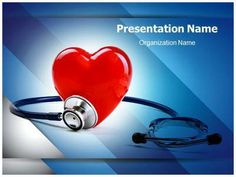 Heart rythm powerpoint template is a free health monitor download our professional looking ppt template on healthy heart and make an healthy heart powerpoint toneelgroepblik Images