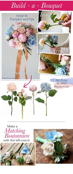 How to make a silk flower bouquet with a bouquet holder video check out this gorgeous bouquet made by pumpkin and pye with silk flowers from afloral mightylinksfo