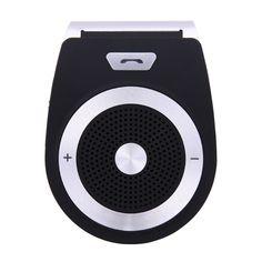 Hot Item $14.01, Buy Auto Car Bluetooth Handsfree Kit Phones Audio Receiver Calls Voice Speaker High Quality Car AUX Home Audio System Devices