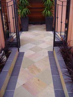 Quarried from the core of mountains,sandstones is a hard material that can last for decades http://sandstone-pavers.com.au/