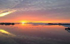 Nascer do sol Thunder Bay - Couleur du matin