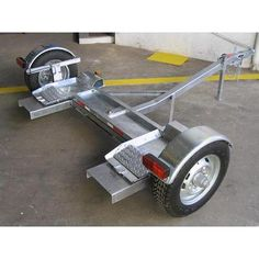 Trailer Dolly, Work Trailer, Trailer Plans, Trailer Build, Utility Trailer, Teardrop Camper Trailer, Bus Camper, Camper Trailers, Car Hauler Trailer