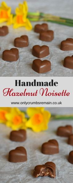 How to make Homemade Hazelnut Noisette Chocolates