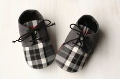 Little man shoes, first baby gift, little man baby shower, grey baby booties, plaid kids shoes, soft soled shoes, baby tuxedo shoes by MartBabyAccessories on Etsy https://www.etsy.com/listing/175659593/little-man-shoes-first-baby-gift-little
