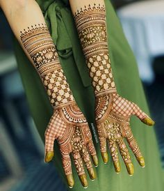41 Ideas For Bridal Mehndi Designs Brides Mehendi Henna Art Henna Hand Designs, Mehandi Designs, Simple Arabic Mehndi Designs, Bridal Henna Designs, Mehndi Designs For Hands, Tattoo Designs, Henna Mehndi, Mehendi, Hand Henna