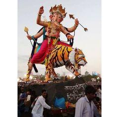 New pin for Ganpati Festival 2015 is created by by mum_ganpati with When Ganpati…