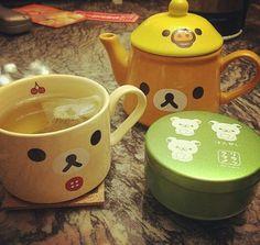 Tea time avec Rilakkuma ♡