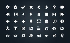 Simple Vector Icons, Felix Weber on ArtStation at https://www.artstation.com/artwork/x6bRX