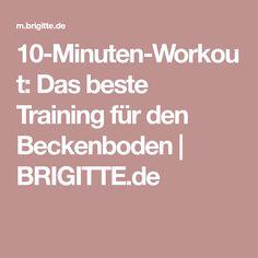10-Minuten-Workout: Das beste Training für den Beckenboden   BRIGITTE.de