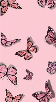 Pink Butterfly Wallpapers Aesthetic : Find Images Of Pink