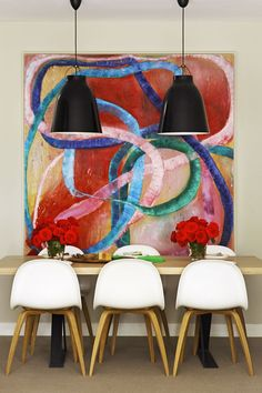 Colourful Dining | Interiors Addict #MaximalistCandy  Discover more #Candy at www.MaximalistCandy.com