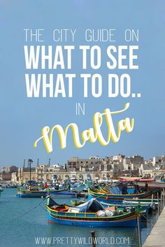 Must see places in Malta | Malta things to do | Malta travel tips | Malta bucketlist | Malta what to do | Malta travel guide | Malta beautiful places | Malta guide | Island life | Underrated countries in Europe | Where to go in Europe