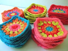 Be pretty by Beate: Granny Squares DIY