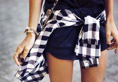 tie a shirt around your waist