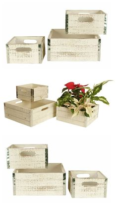 Where To Buy Decorative Boxes Set Of 3 Rustic American Flag Decorative Wooden Storage Boxes 16