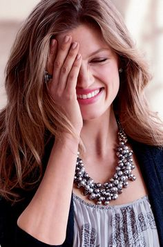 Isadora Pearl Bib Necklace | Stella & Dot Love this with a LBD.