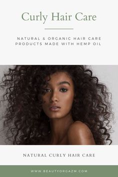 HEMP oil is derived from seeds of plants in the Cannabaceale family. It contains 20+ amino acids, which are essential for building blocks of protein. This is exactly why it helps to build up collagen and elastin, which are crucial to hair strength. For this reason, HEMP oil prevents breakage and even makes your curly hair look thicker and fuller. Curly hair care with Beauty Orgazm can be very easy.   #hemp #beautyorgazm #curlyhair #haircare #natural #organic Organic Hair Care, Natural Hair Care, Organic Beauty, Natural Hair Styles, Hair Care Routine, Hair Care Tips, Curly Hair Care, Curly Hair Styles, Highlights Curly Hair