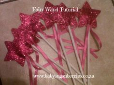Quick and easy way to make a fairy wand!