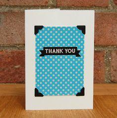 Thank You - Polka Dot