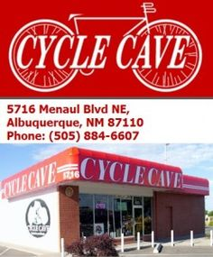 Cycle Cave Inc has been serving the Albuquerque, NM area with a full range of bicycles, accessories, and services since 1973. We have maintained the same management team since opening. Together, our team has more than 100 years of combined bicycle experience in sales and service.