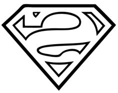 superman logo stencil superman logo template clipart best rh pinterest com superman logo stencil pumpkin superman symbol stencil