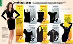 Combinar collares con tu vestimenta Infographic