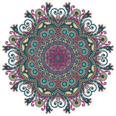 Circle csipke d sz kerek d szes geometriai mint s szalv ta Stock fotó