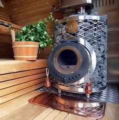 Deze prachtige houtkachel doet alles wat je van een perfecte saunakachel kan verwachten. 120 kg Stenen verwarmen op een zachte manier de sauna. De opgiet is subliem. Het design is perfect.