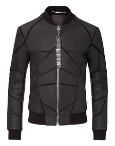 "PHILIPP PLEIN Leather Jacket ""Screaming"". #philippplein #cloth #"